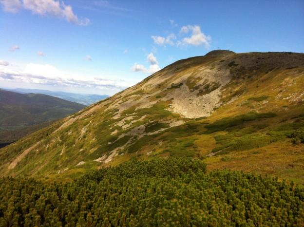Szczyt Babiej Góry - Diablak